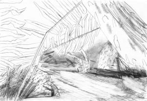 Far-Cry-Rook-Islands-Jungle-1-Bleistift-auf-Papier-105-x-148-cm-20131