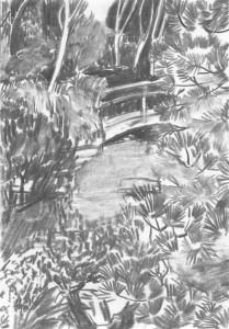 Bridge_I_Kohle-auf-Papier_140x199_2016