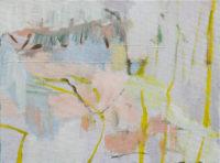 o.T.-(Vue-des-Alpes,-Le-Lac-I),-30-×-40-cm,-Öl-auf-Leinwand,-2015_2