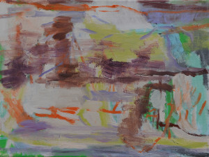 o.T.-(Vue-des-Alpes,-Panorama),-30-×-40-cm,-Öl-auf-Leinwand,-2015
