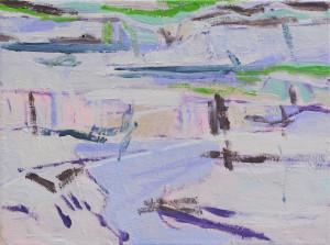 o.T.-(Vue-des-Alpes,-Plateau-II),-30-×-40-cm,-Öl-auf-Leinwand,-2015_2
